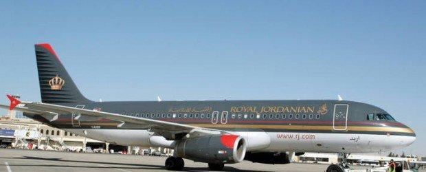 طائرة #الملكية_الأردنية المسماه #إربد #الأردن
