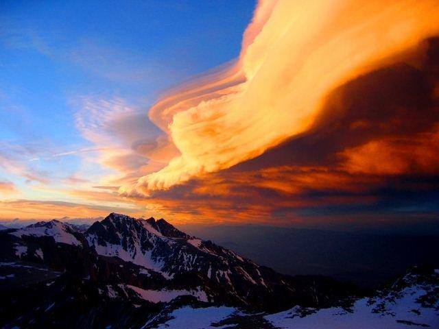 Mountain Russell's Epic Cloud #Nature