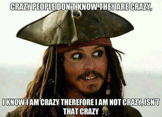 crazy people statment