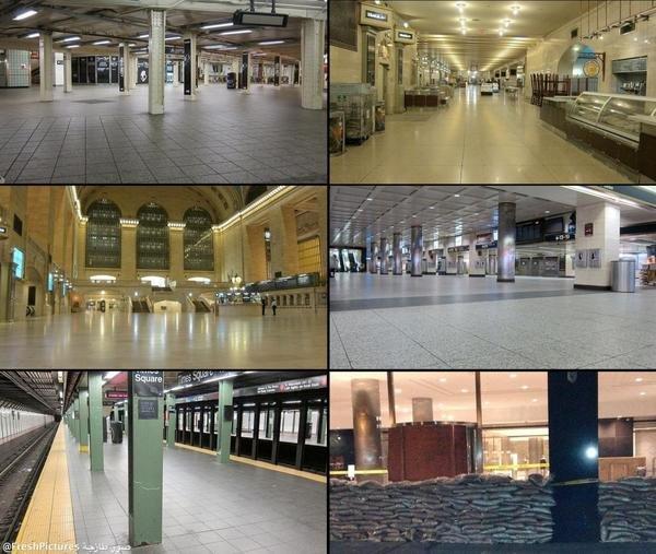 محطات مترو أنفاق #نيويورك #الولايات_المتحدة