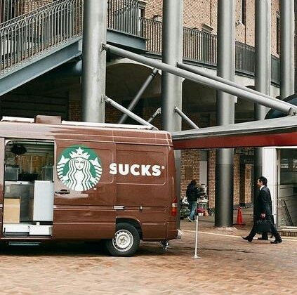 Starbucks.... sucks?!