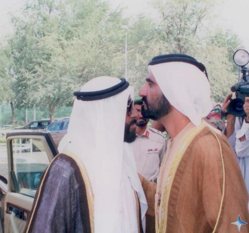 Rare Pictures for Sheikh Zayed and Sheikh Mohamad Bin Rashed 2