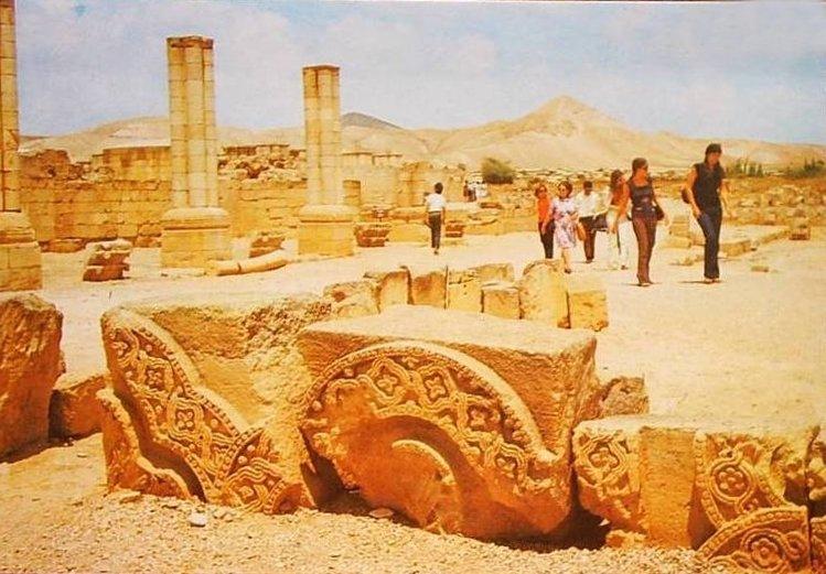 Ruins of Hisham bin AbdulMalek Palace A