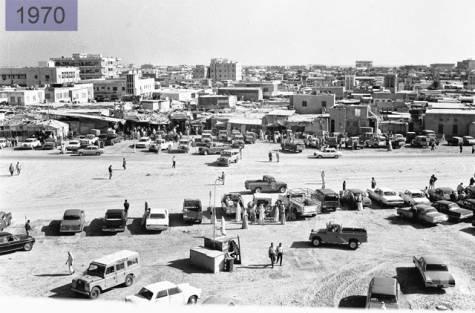 مدينة #أبوظبي سنة 1970 #تاريخ