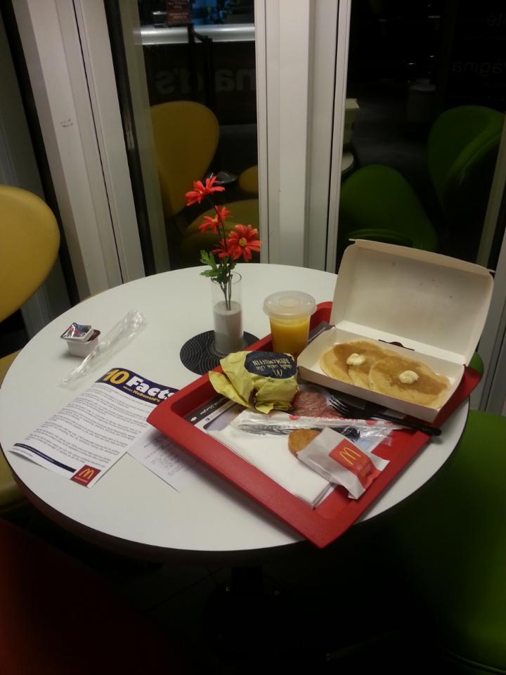 Good Morning #McDonalds