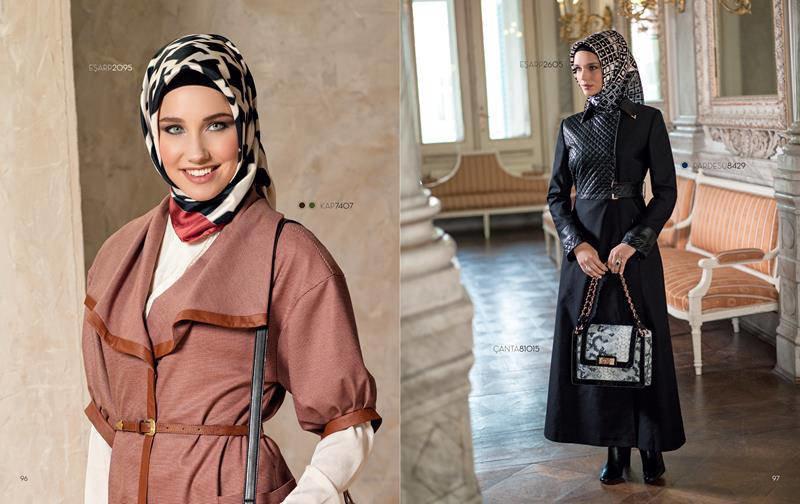 ملابس #محجبات #حجاب : موديلات #فساتين طويلة روعة #بنات - صورة 2
