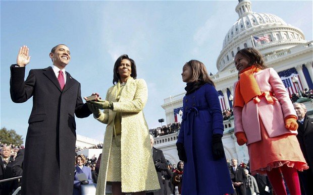 Obama's inauguration- One of the best shots