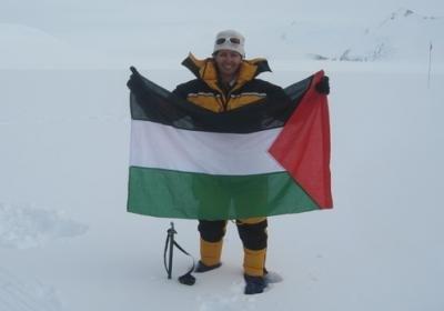 سوزان الهوبي أول عربية فلسطينية تصل قمة جبل ايفيرست #فلسطين