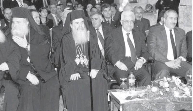 ناصر جودة ومحمود عباس في احتفالات #بيت_لحم #فلسطين بالسنة الجديدة