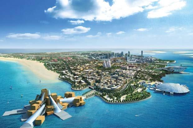 جزيرة السعديات في #أبوظبي