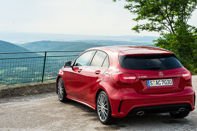 The New #Mercedes A Class AMG - 4