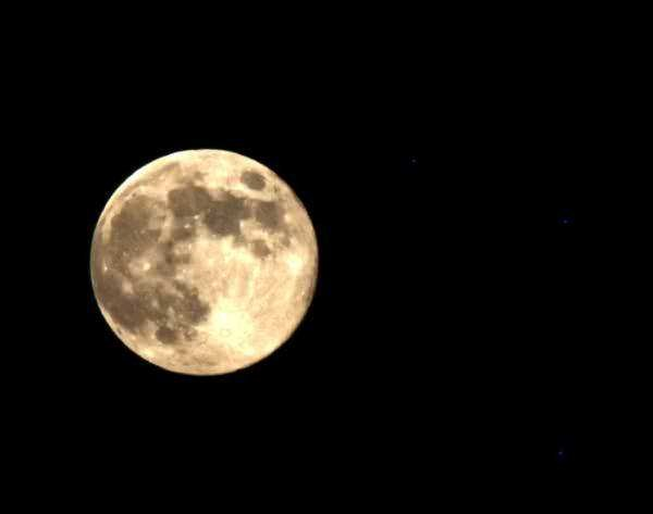 blue moon in #Amman