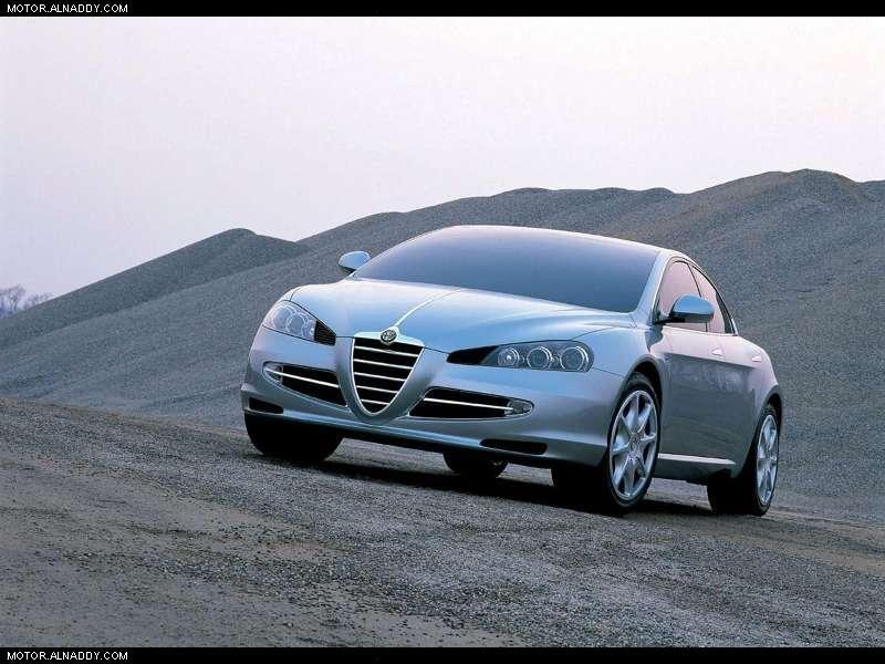 2004 Alfa Romeo Visconti Concept ItalDesign