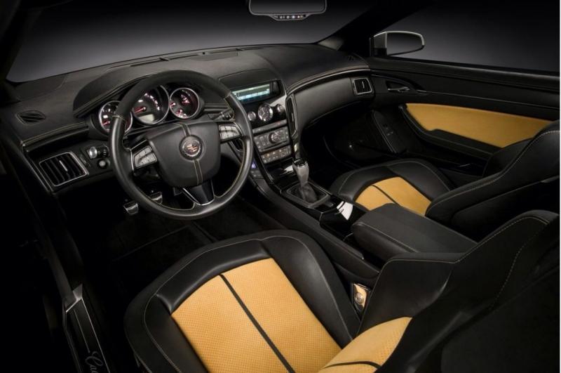 Hennessey V800 Cadillac CTS-V - interior shot