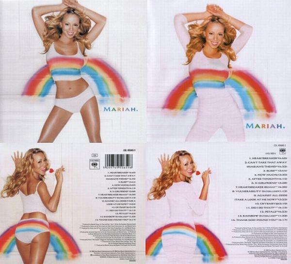 غلاف ألبوم #ماريا_كاري في #السعودية