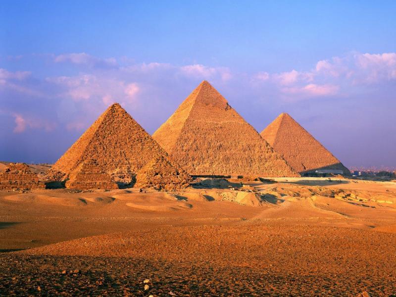 #أهرامات الجيزة في #مصر -صورة 2