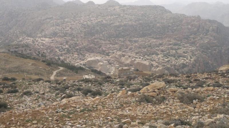 جبال محمية ضانا #الطفيلة #الأردن