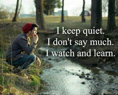 why some people are usually quiet