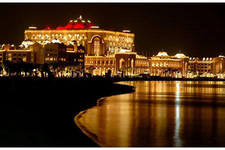 صور فندق #قصر_الإمارات ليلا في #أبوظبي