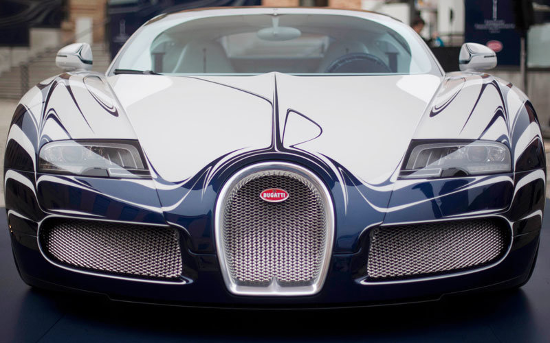 custom-made #Bugatti L'Or Blanc – the world's most expensive car - 2
