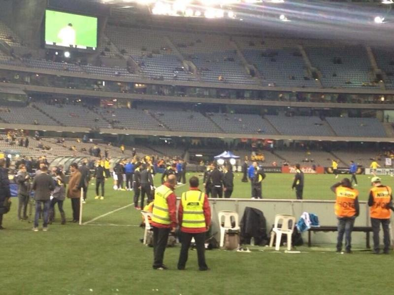#TFsport صور ماقبل مباراة النشامى مع استراليا 1