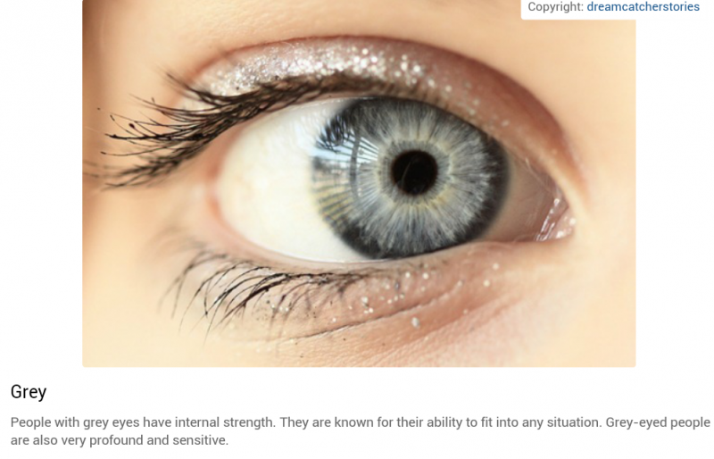 شخصيتك حسب لون عينيك: الرمادي #تحليل_شخصية