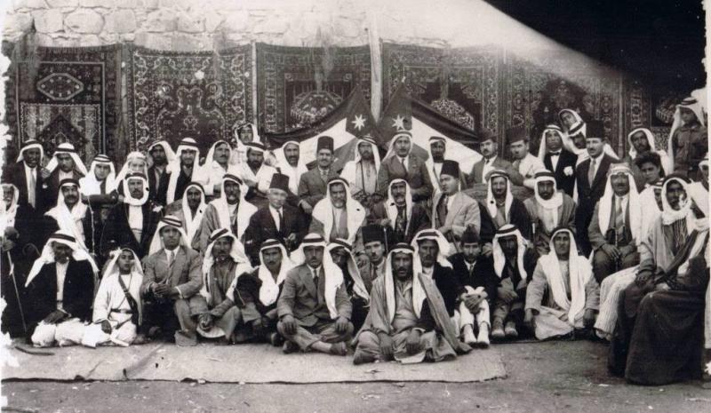 المؤتمر الوطني الأردني الذي عقد عام 1928 و تزعمه الأمير راشد الخزاعي في #عجلون #الأردن #تاريخ