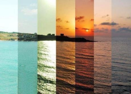 7 hours in one image by Isil Karanfil