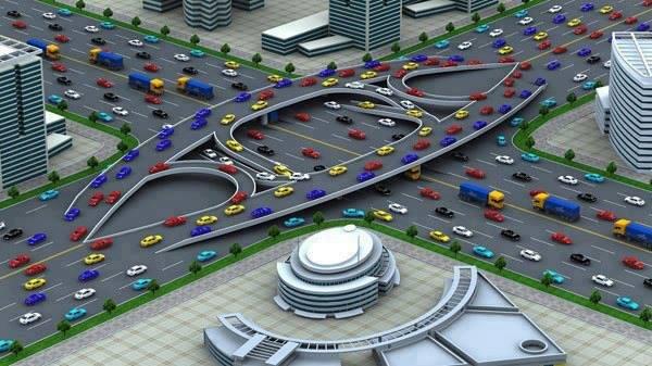 تصميم من شاب صيني لتقاطع ينظم حركة السير بشكل رائع
