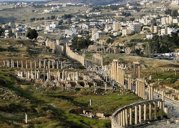 صور منوعة لمدينة #جرش في #الأردن - صورة 14