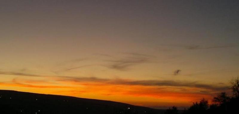 غرندل وقت الغروب تصوير يزن السعودي #الطفيلة #الأردن