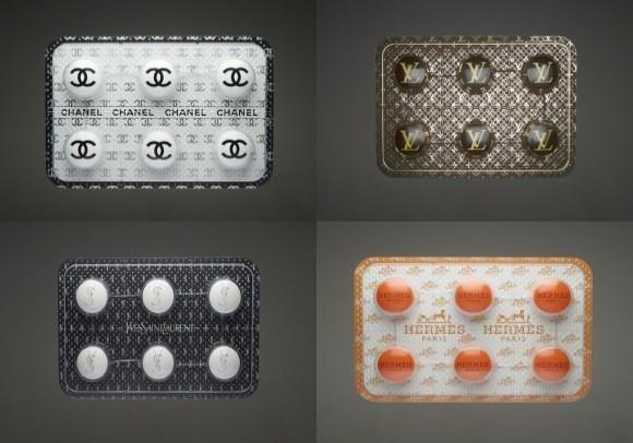 الموضة تصل لأغلفة الأدوية