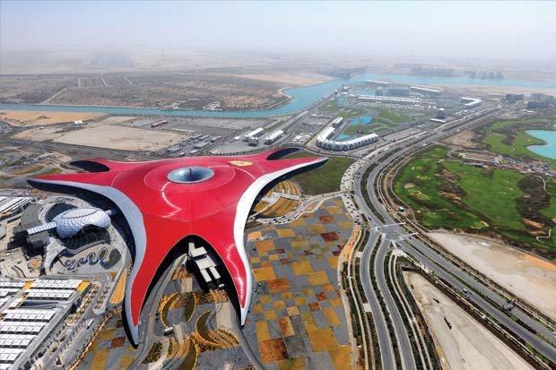 Ferrari World #AbuDhabi on Yas Island