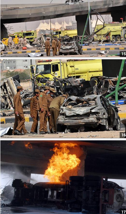 المزيد من صور تفجير #الرياض #السعودية نقلا عن صحيفة الرياض 5