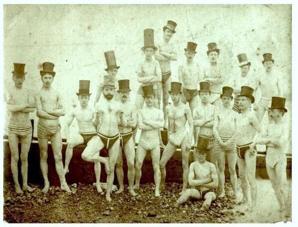 Brighton Swimming Club in 1863