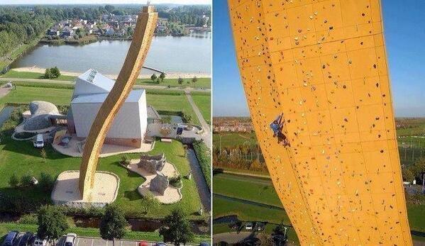 بناء متكامل في #هولندا لهواة التسلق