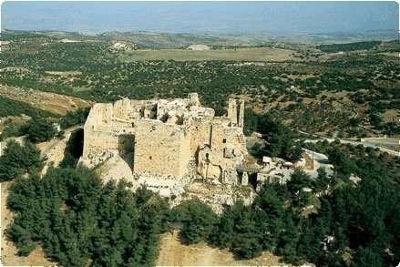 #صور_من_الاردن منظر لقلعة عجلون من الخلف