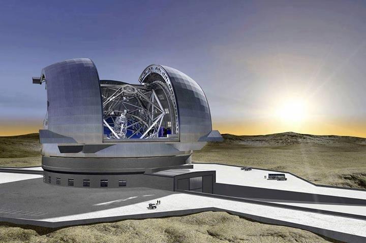 اكبر تلسكوب في العالم .. يتوقع الانتهاء منه في عام 2022 #غرد_بصورة #معلومات