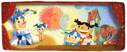 Google's doodle of the day: Celebrating Child Day
