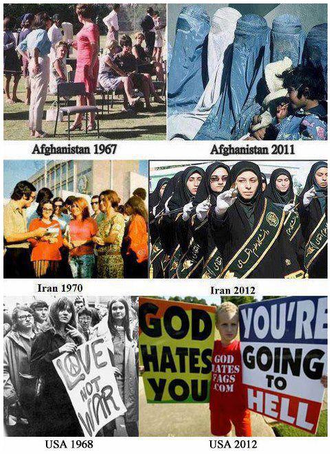 العالم قبل وبعد حكم الإرهاب