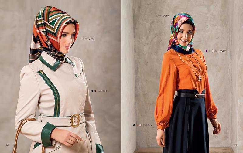 ملابس #محجبات #حجاب : موديلات #فساتين طويلة روعة #بنات - صورة 10
