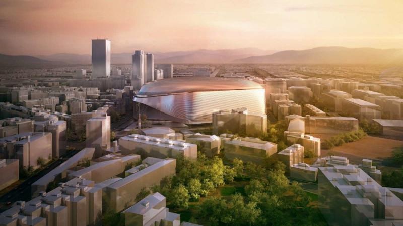 New Santiago Bernabéu Stadium - architecture, design, art, interior