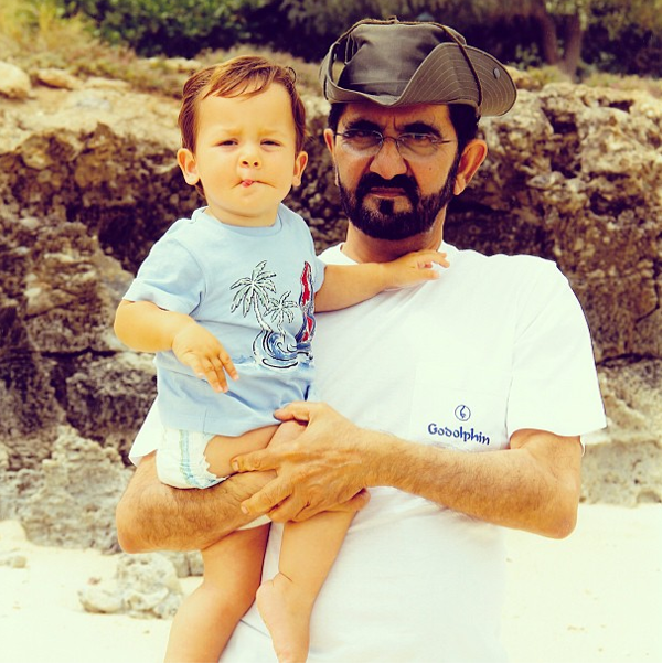 Sheikh Mohammed posts photos on #Instagram