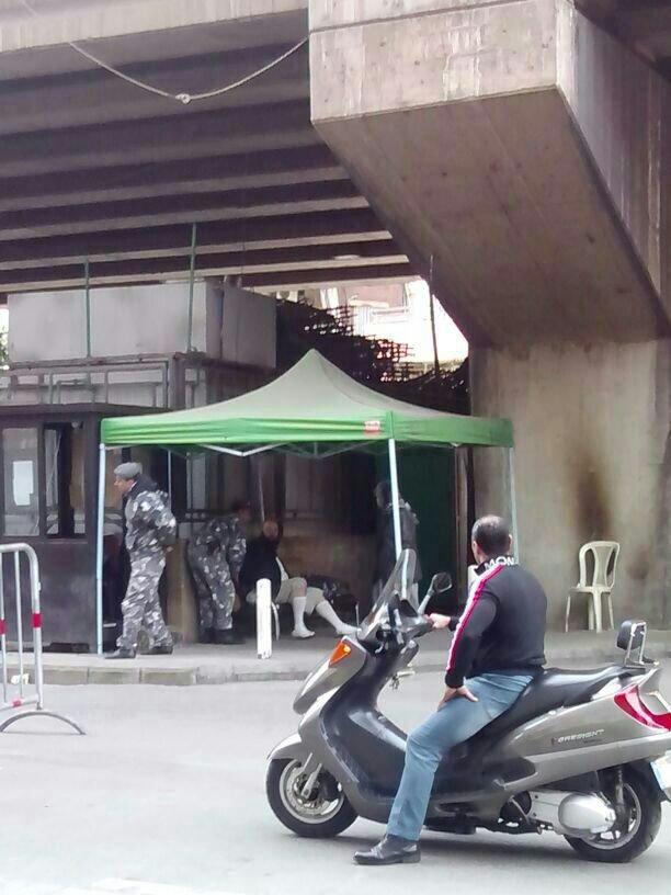 القبض على انتحاري قبل تفجير نفسه في حارة حريك قرب مدخل بئر العبد - حصري