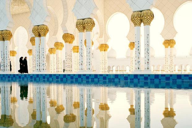 جامع الشيخ زايد الكبير #أبو_ظبي