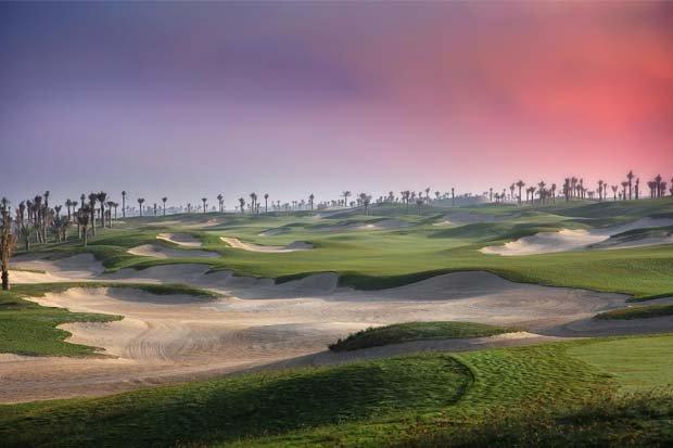 ملعب السعديات للجولف في #أبوظبي