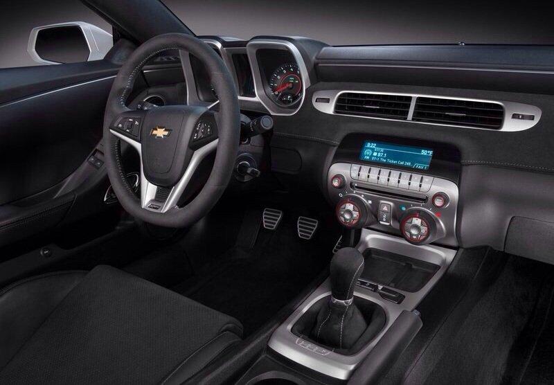 Chevrolet Camaro Z28 - interior shot