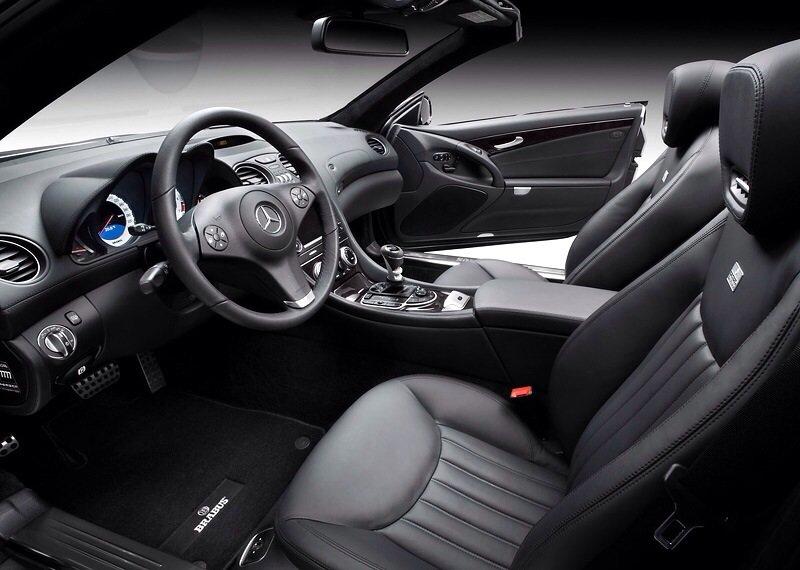 Mercedes-Benz Brabus SL V12 - interior shot