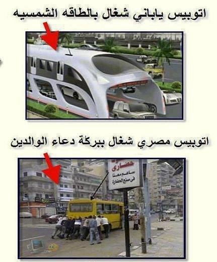الفرق بين مصر واليابان