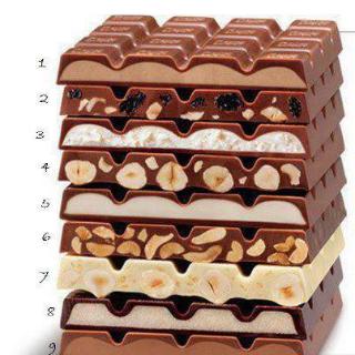 ما رقم الشوكولاته التي تحبها
